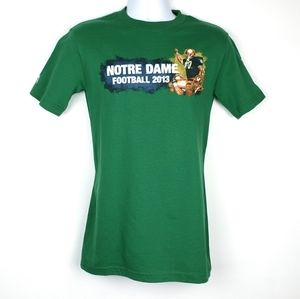 Green 'The Shirt' Notre Dame Football 2013, Size S